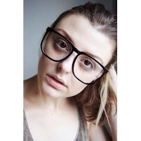 09c9873cca229 Óculos Armação Quadrado Estilo Nerd Retro Preto Ray Ban - Óculos no ...