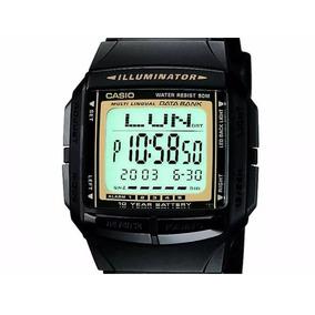 6b0a4c9dd23 Relogio Casio Data Bank Dourado Masculino - Relógios De Pulso no ...