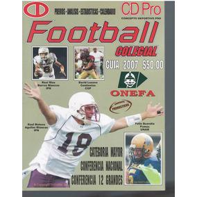 Futbol Americano Guia De Prensa Cdpro Liga Mayor 2007 b920e642e59