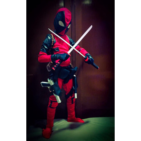 Disfraz Original Deadpool De Niño Con Accesorios Pistolas d1afbc50acf4