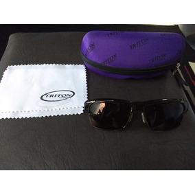 Óculos De Sol Feminino Triton Mp50207sd tt Preto C  Estojo 4ba4165cca