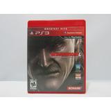 Metal Gear Solid 4: Guns Of The Patriots Ps3 Usado Caja Roja