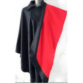Poncho Baeta Carnal Vermelho 8