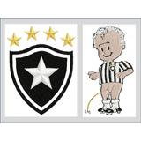 de883db2d8 Matriz De Bordado Pacote Botafogo Brasão E Mascote Pes Jef