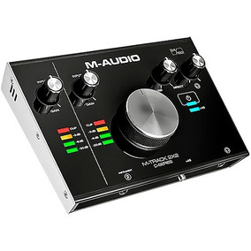 Interface De Áudio M-audio M-track 2x2 Usb Frete Grátis