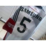 Camisa Do Palmeiras adidas 2009/2010 Branca Nº 5 Usada