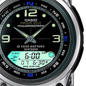 1156e458908 Relogio Masculino Funcao Pesca Aw 82d 1avdf Casio + Nf - Relógios De ...