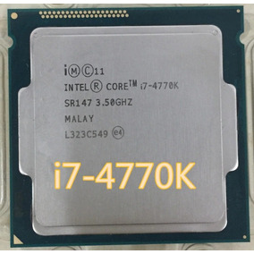 Processador Intel Core I7 4770k 3.9 Ghz Socket 1150 4º Ger.