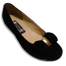 Zapato Calzado Escolar Moño Mimi Durable Comodo J Villegas