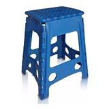 Banco Banqueta Dobrável Compacta Plastico Cadeira Camping