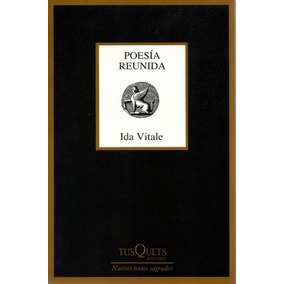 Libro: Poesía Reunida - Ida Vitale * Envio Gratis*