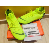 Chuteira Nike Verde Fluorescente Profissional Pronta Enteega dba0dc9536e6b