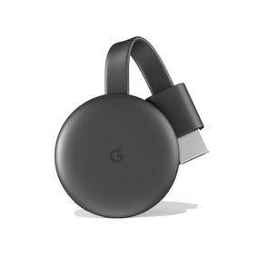 Novo Google Chromecast 3 Original Preto Lacrado 6131