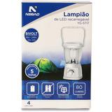 Lampião De Led Yg-5717 C/ Carregamento Solar Nsbao