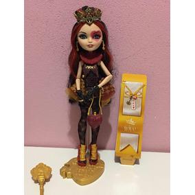 Ever After High Lizzie Hearts Original Rara Completa Mattel