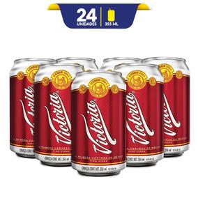 Cerveza Victoria, 24 Latas De 355ml C/u