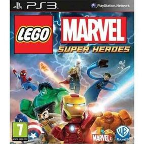 Lego Marvel Super Heroes Ps3 Psn Digital Envio Na Hora