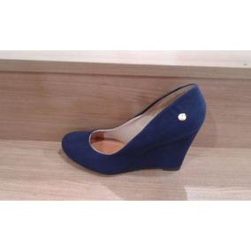 fc5c9f192 Sapato Boneca Annabelle Anabela - Sapatos Azul marinho no Mercado ...