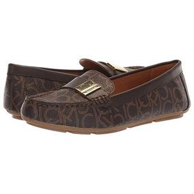 Mocasin Calvin Klein Dama Loafers Original Muy Comodo Envio