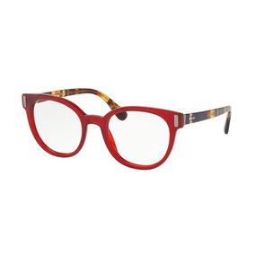 Oculos Prada 54g Vermelho Branco Armacoes - Óculos no Mercado Livre ... 393e315014