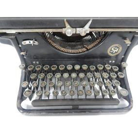 Antiga Maquina De Escrever Ideal Naumann Germany, 1941