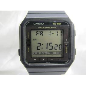 d85792b5f47 Relogio Casio Calculadora Antigo - Relógios no Mercado Livre Brasil
