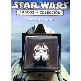 Star Wars Cascos N° 11 Piloto At-at + Revista