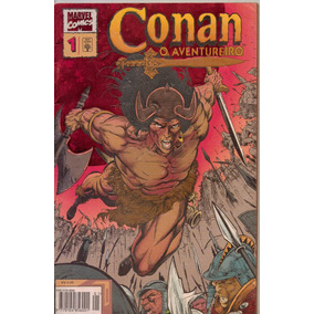 Conan O Aventureiro Nº 1 - Junho De 1995 / Editora Abril