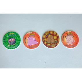 Tazos Pokémon Elma Chips