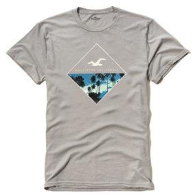 8401b5d1c Hollister Logo Graphic Tee Camisetas - Camisetas e Blusas no Mercado ...