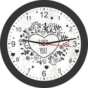 c9272945c64 Adorno De Parede Umbra Love - Relógios no Mercado Livre Brasil
