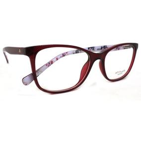 Armaçao Oculos Vintage Quadrado 17 - Óculos Vermelho no Mercado ... 18737480e8