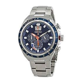 Seiko Prospex Cronógrafo Reloj De Hombre Con Esfera Azul Ss 8228a4d86b6