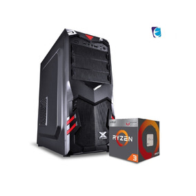 Pc Aquila Ryzen R3 2200g A320m Hd 4gb Fury Ssd120 Bc350 I