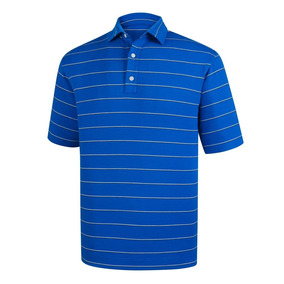 Tati Golf - Footjoy Chomba Spun Poly Stripe Azul 2018