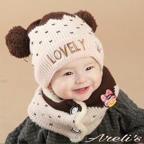 Gorro Con Bufanda Infantil. Lovely. Envio Gratis ed76ca5d075