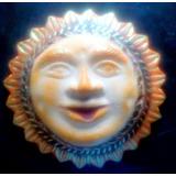 Molde Silicon De Sol Y Luna De 40 Cm