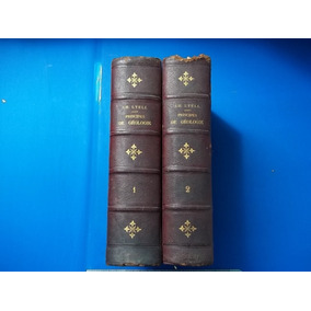Livro Principes Géologie Deuxièm 1873 Charles Lyell Geologia