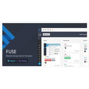 Fuse - React Redux Material Design Admin V1.2.8 November2018