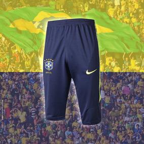 832bbbb2b Bermuda 3 4 Treino Futebol Nike - Roupas de Futebol no Mercado Livre ...