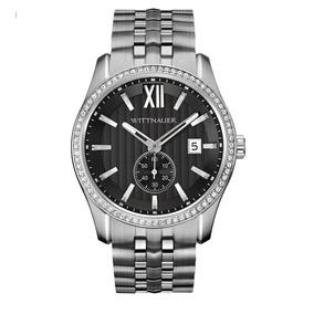 Reloj Wittnauer Wn3130 Cristal Zirconia Y Acero Inoxidable