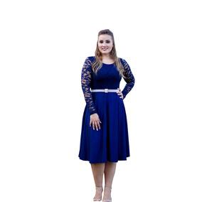 Kit 3 Vestidos Evangelicos Gode Cores Variadas Princesa Moda