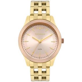 f98e8fe74a6b2 Relogio Technos Dourado ,5 Mm - Relógios De Pulso no Mercado Livre ...