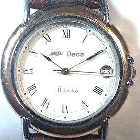 017 Rlg- Relógio Original Deca- Pulso Masculino Funcionando