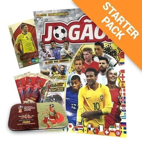 Lote 5 Revista Jogao Lacradas Cards Copa 2018 Panini