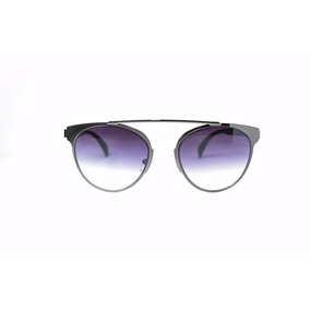 4c1690e08faee Óculos De Sol Feminino Diferente Lente Degrade Redondo