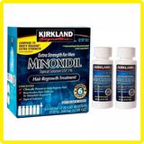 Mino-xidil 5% X2 Frascos 60ml Barba Cabello Ceja Original