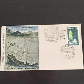 Selo Envelope Primeiro Dia 250 Anos Paranaguá Muito Raro