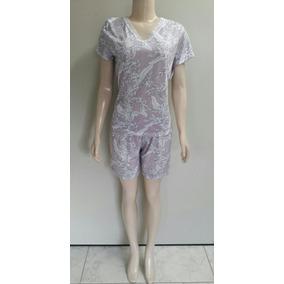Short Doll Blusa E Shorts Estampado