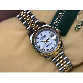 Rolex Datejust Modelo Nuevo Dama Aut Acero Oro 18k Impecable b10605bc4cb5